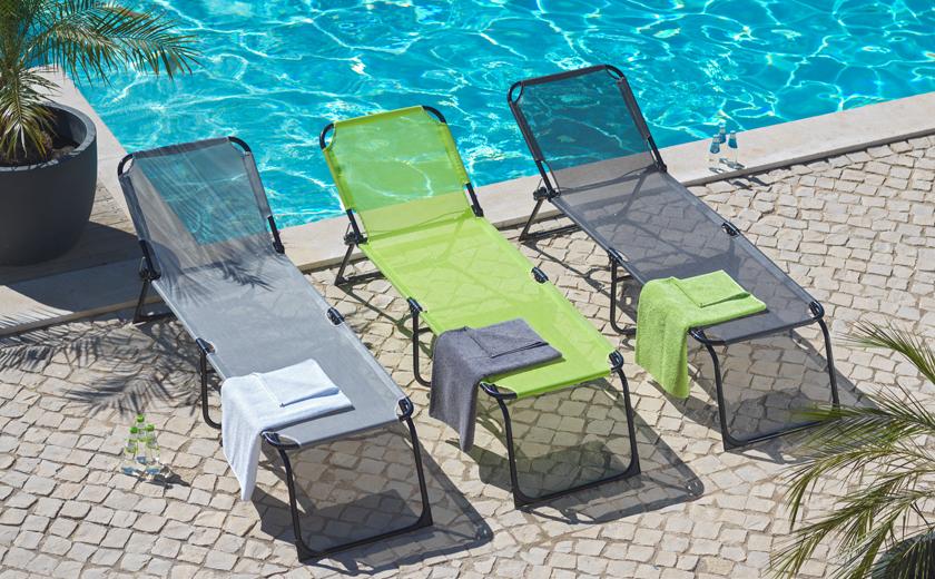 Poletne počitnice ležalnik brisače